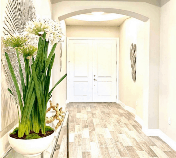 Use wood floors to add luxury for new construction