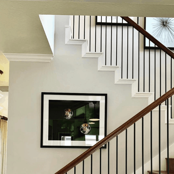 Interior Paint Adds Luxury Look in New Construction Home Orlando